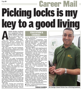 Daily Mail Locksmiths Article