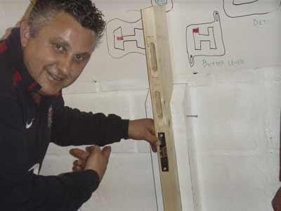 Locksmith training Image of course
