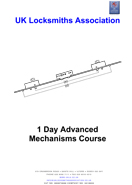 Advance Mechanisms Locksmith Course Prospectus