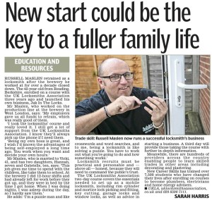 Daily Mail Locksmith Article