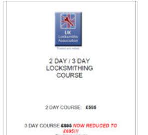 Locksmith Courses