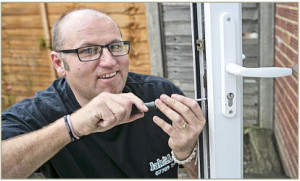 Russell Maslen now runs a successful locksmith's business