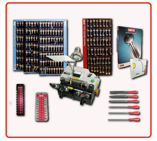 key cutting machine Standard package