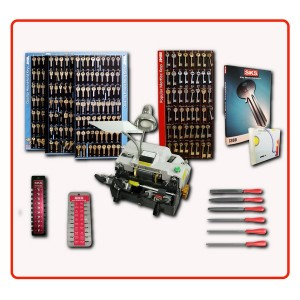 Key cutting machine Standard package